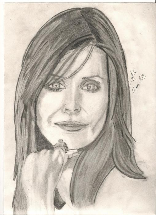 Courtney Cox-Arquette par tyfus88